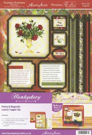 Peony & Magnolia Luxury Topper Set By Hunkydory
